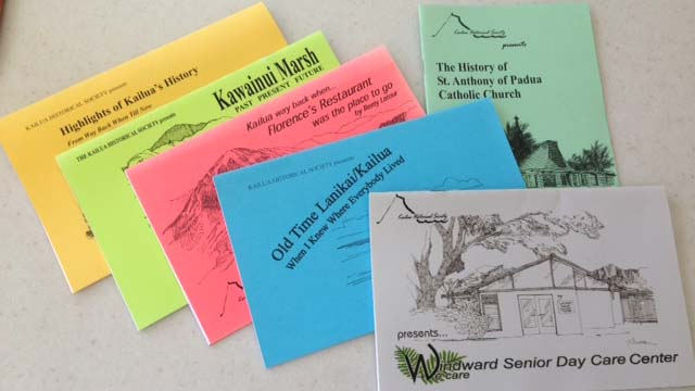 photo of Kailua Historical Society Booklets
